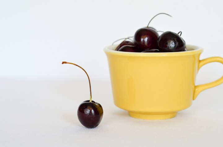 A cherry ontop